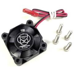 Ventola per dissipatore 30 mm Adatto per: Motore elettrico 540er, Motore elettrico 550er Nero