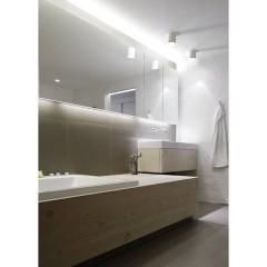 S4 Lampada a soffitto per bagno LED (monocolore) GU10 8 W Bianco