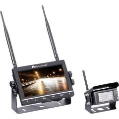 Truck Guardian Sistema video di retromarcia senza fili 4 ingressi telecamera, Linee guida Distanza, Ulteriore