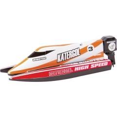 Mini Race Boat Red Barca a motore per principianti RtR 140 mm