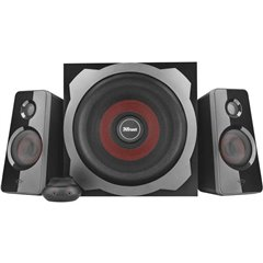 Altoparlante per PC 2.1 Cablato GTX38 Ultimate Bass 60 W Nero