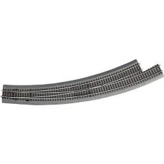 H0 Line (con massicciata) Scambio curvo, sinistro 30 ° 826.4 mm