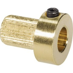 Inserto per giunto Ottone Inserto connettore in ottone da 6 mm per modellino navale Ø foro: 6 mm (Ø x L) 13 mm x 15 mm