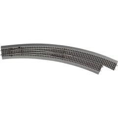 H0 Line (con massicciata) Scambio curvo, destro 30 ° 826.4 mm