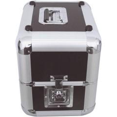 Plattencase Aluminuim Flight case (L x L x A) 380 x 300 x 365 mm