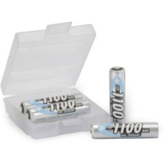 HR03 +Box Batteria ricaricabile Ministilo (AAA) NiMH 1050 mAh 1.2 V 4 pz.