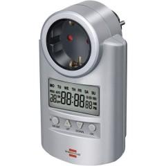 Timer a spina analogico digitale Settimanale 3680 W IP20 Funzione di conto alla rovescia, Funzione