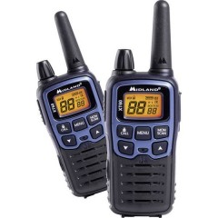 XT60 Radio ricetrasmittente portatile LPD PMR Kit da 2
