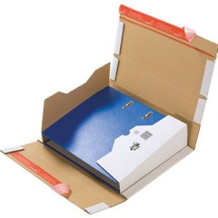 Cartella di spedizione cartella cartone Cartone ondulato DIN A4 Marrone