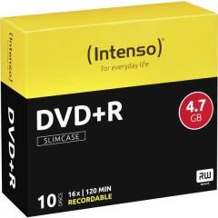 DVD+R vergine 4.7 GB 10 pz. Slim case