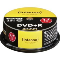 DVD+R vergine 4.7 GB 25 pz. Torre stampabile