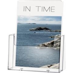 Porta depliant Trasparente DIN A5 verticale Numero scomparti 1 1 pz. (L x A x P) 166 x 210 x 67 mm