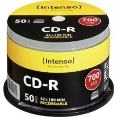 CD-R 80 vergine 700 MB 50 pz. Torre