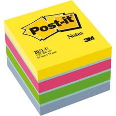 Cubo note adesive 51 mm x 40 mm Ultra-blu, Ultra-Giallo, Ultra-verde, Ultra-Rosa 400 Foglio