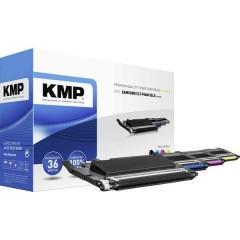 Toner Conf. Combi sostituisce Samsung CLT-P406C, CLT-K406S, CLT-C406S, CLT-M406S, CLT-Y406S Compatibile Nero,