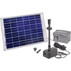 Siena Plus KIT pompa solare con illuminazione, con batteria tampone 1500 l/h