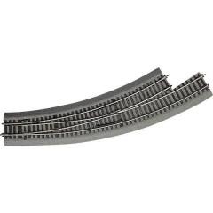 H0 Line (con massicciata) Scambio curvo, sinistro 30 ° 542.8 mm