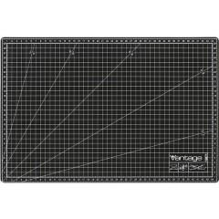 Vantage 30 x 45 cm schwarz Tappetino da taglio