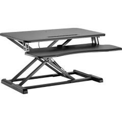 Postazione di lavoro per postura seduta ed eretta Altezza: 100 fino a 505 mm Nero