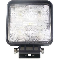 Faro da lavoro 12 V, 24 V 5x3 W, 1150 l Illuminazione da vicino (L x A x P) 110 x 110 x 41 mm