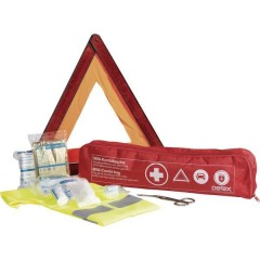 Kit di primo soccorso Incl. giubbotto di sicurezza, Incl. triangolo di emergenza