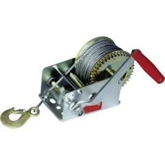 Verricello manuale Trazione a fermo=1100 kg dispositivo antiritorno