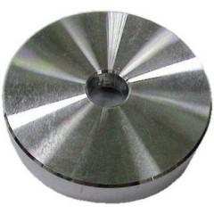Universal Single Puck Aluminium Disco di centratura