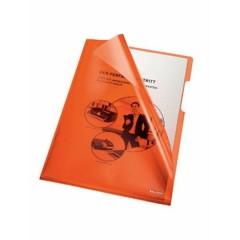 Busta trasparente a L DIN A4 PVC 0.15 mm Arancione (trasparente) 100 pz.