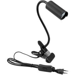 KKL-7 Lampada LED con morsetto 7 W Bianco freddo Nero