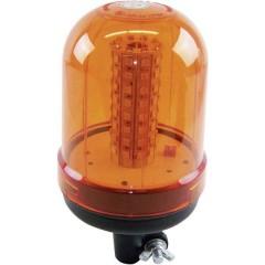 Luce a tutto tondo 12 V, 24 V via rete a bordo Supporto Arancione