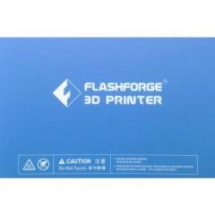 Pellicola per tappetino di stampa Adatto per: FlashForge Dreamer, FlashForge Creator (Pro)