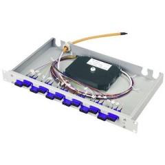 Patchpanel per fibra ottica 24 Porte LC 1 U