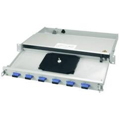 Patchpanel per fibra ottica 12 Porte LC 1 U