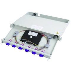 Patchpanel per fibra ottica ST 1 U