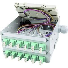 Cassetta giunzioni per fibra ottica Grigio (RAL 7035)