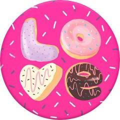 Supporto smartphone Love Donut Rosa