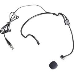 ad archetto Microfono per cantanti Tipo di trasmissione:Cablato incl. protezione vento