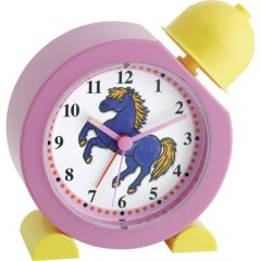 Sveglia per bambini Sveglia al quarzo cavallo