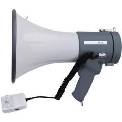 ER-66S Megafono con microfono a gelato, con cinghia di supporto, suoni integrati
