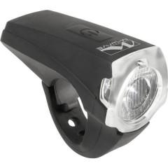 Fanale anteriore APOLLON K 1.1 USB LED (monocolore) a batteria ricaricabile Nero