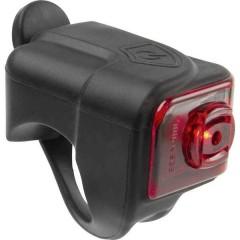Fanale posteriore HELIOS K1.1 USB LED (monocolore) a batteria ricaricabile Nero