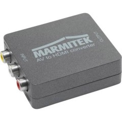 AV Convertitore [RCA Composito, Scart - HDMI] 1080 x 720 Pixel Connect AH31