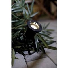 Spotlight Faretto da giardino LED (monocolore), Lampadina Alogena GU10 35 W Nero