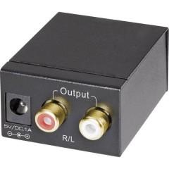 AV Convertitore [Toslink, RCA Digitale - RCA] SP-DAC-TKC