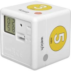 Cube Timer Ei Timer uova Bianco, Giallo digitale