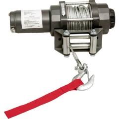 Verricello elettrico Trazione a fermo=1590 kg Trazione avvolgimento=4700 kg Comando via cavo,