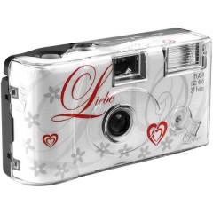 Love White Macchina fotografica usa e getta 1 pz. con flash integrato