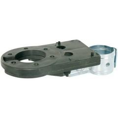 Supporto per presa [Presa a 13 poli, Presa a 7 poli - ] Metallo (zincato), Plastica ABS