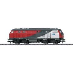 Locomotiva diesel N 218 256-6 degli Heros