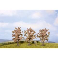 Kit alberi albero da frutto Altezza (min.): 80 mm Altezza (max.): 80 mm Rosa, Fiorente 3 pz.